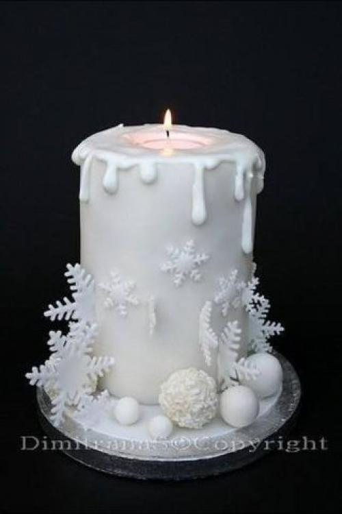 Свечи из крема как сделать