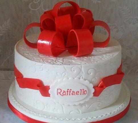 торт рафеелло фото